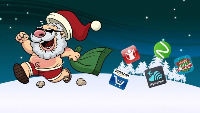 Au secours, Noël approche! 11 applis pour survivre aux fêtes de fin d'année