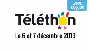 Appli du jour : l'application du Téléthon pour faire un don [Android, iOS]