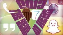 L'actu Mobile en 2013 : la guerre iOS 7 / Android KitKat a bien eu lieu
