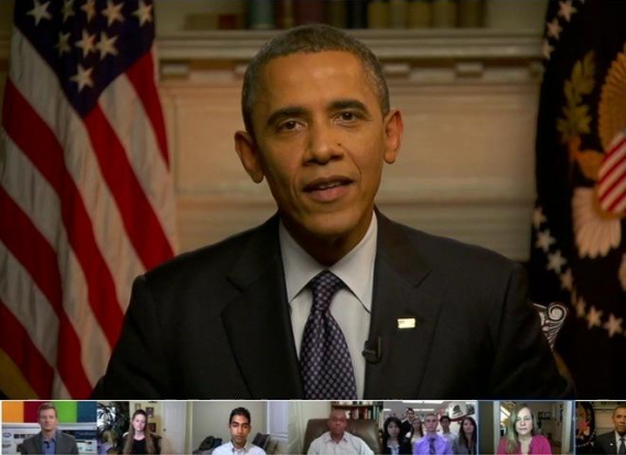 Obama hangout