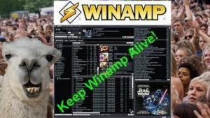 Rachat de Winamp par Radionomy: le lecteur encore en libre téléchargement