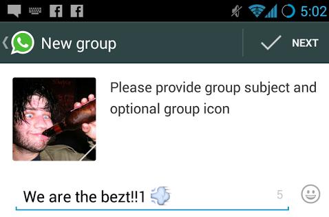 WhatsApp message de nuit