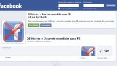 La journée mondiale sans Facebook: résisterez-vous à la tentation ?