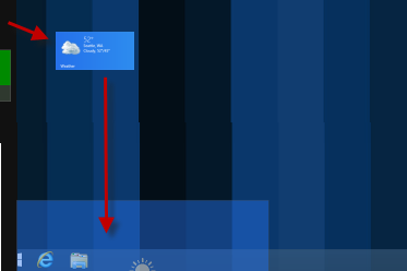 Close app Windows 8.1