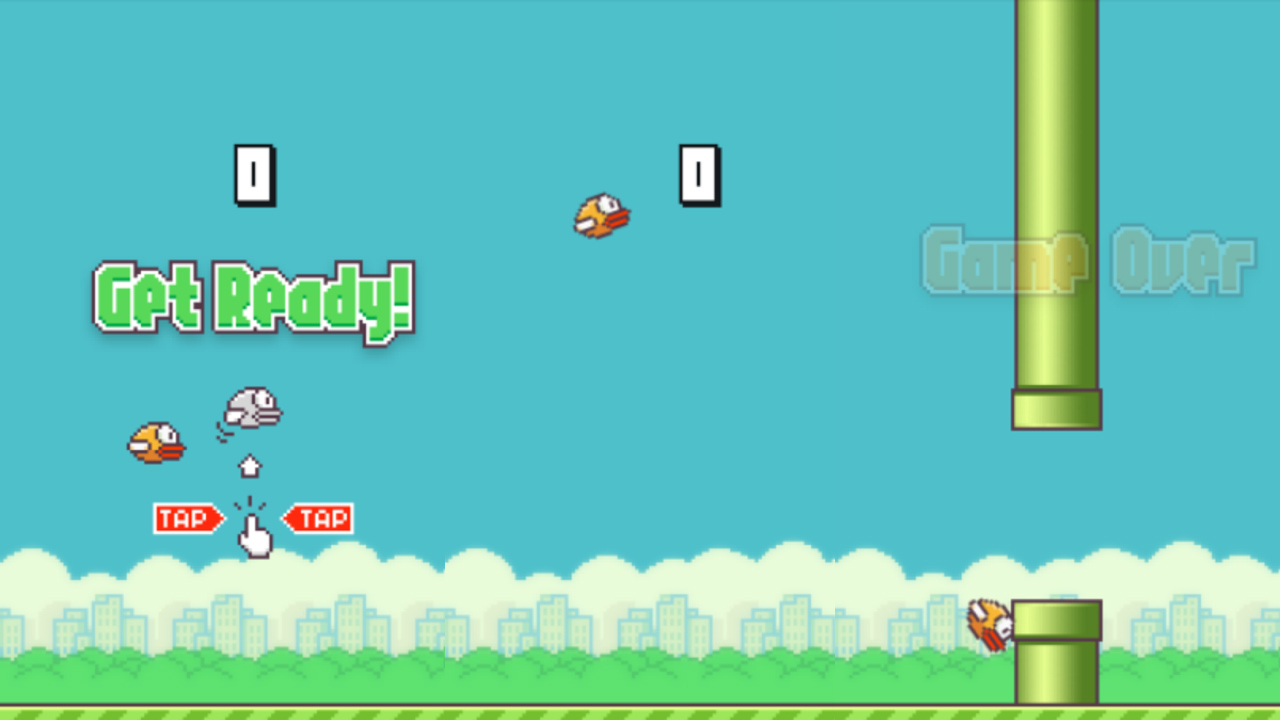 Flappy Bird définitivement supprimé de l'App Store et du Google Play !