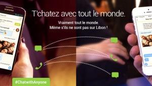 Libon sur iPhone permet désormais de tchater avec tous ses amis WhatsApp, Viber, We Chat, Line…