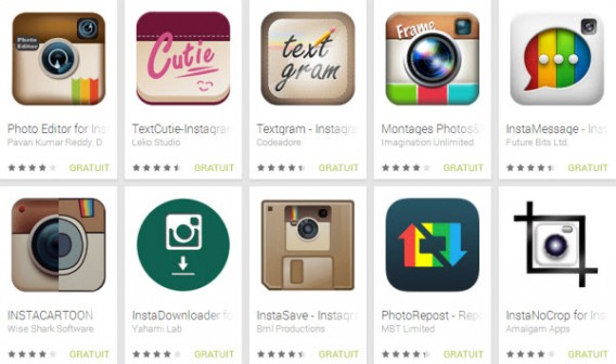 Third party apps for Instagram