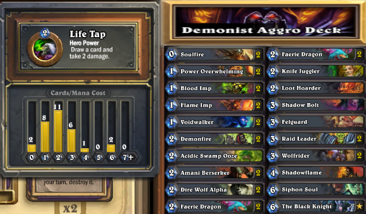 demonist aggro low cost deck