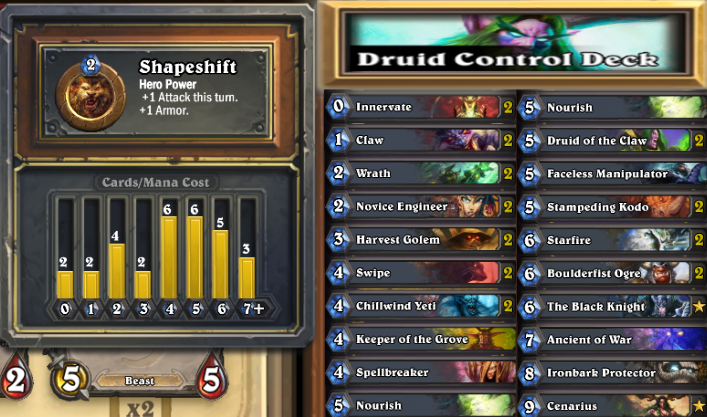 druid low cost control deck