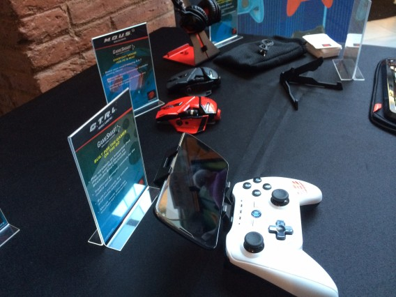 Mad Catz Mobile World Congres MWC C.T.R.L.i