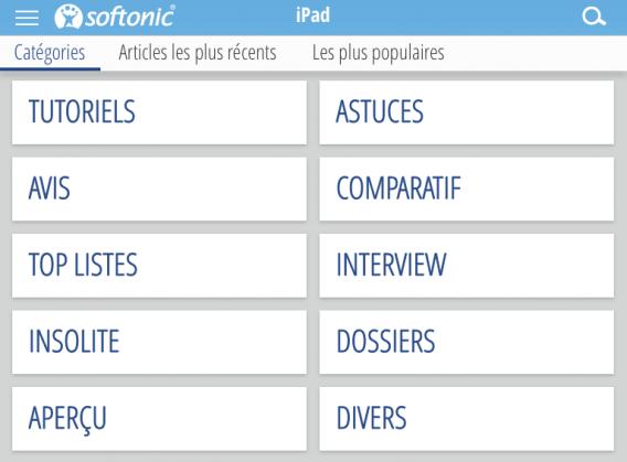softonic application Catégories Articles