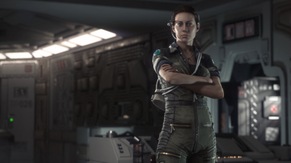 Amanda Ripley Alien: Isolation