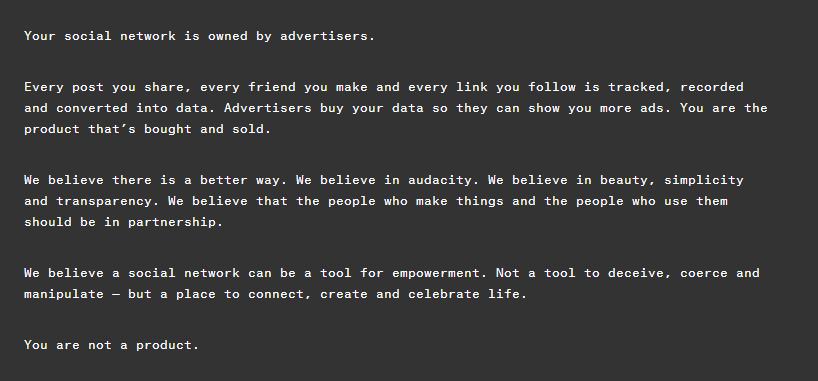 Ello: le réseau social anti-Facebook est né
