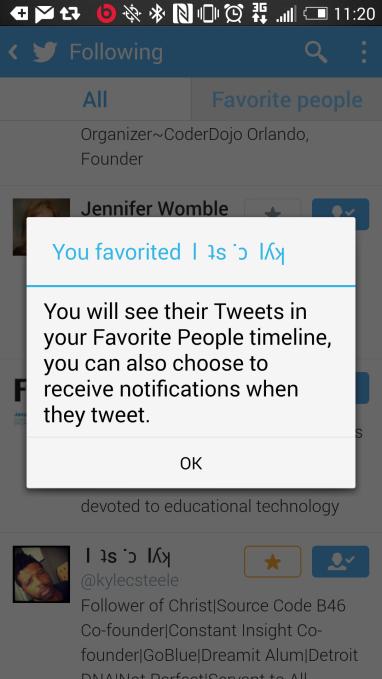 Twitter expérimente une timeline pour suivre vos profils préférés