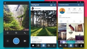 Instagram pour Android: plus léger, plus performant et plus plat