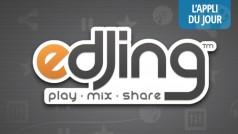 App du jour : jouez les David Guetta et mixez sur votre smartphone avec edjing [Android, iPhone, Windows 8]