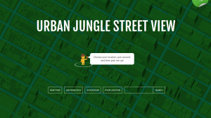 Urban Jungle Street View: la version zombie de Google Maps