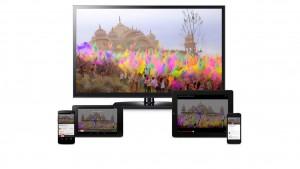 Chromecast disponible en France avec les applis CanalPlay, FranceTV Pluzz et SFR TV