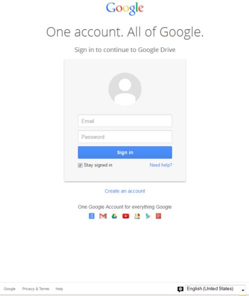 Google Drive: une arnarque au phishing circule sur le web