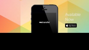wetransfer sur ipad