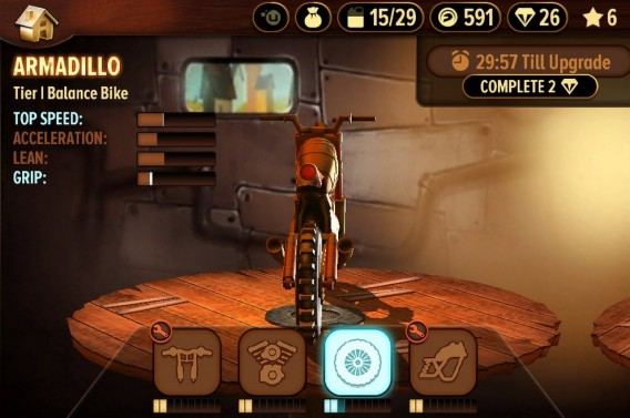 Trials Frontier Bike upgrade