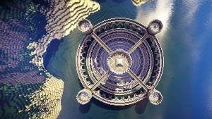 Minecraft: des fans créent un Colisée spectaculaire dans l'eau. Regardez!