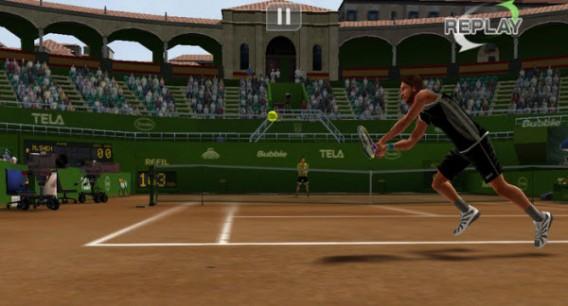 Application Virtual Tennis Challenge