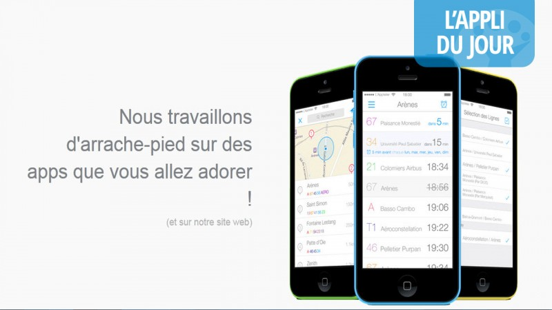 App du jour : simplifier l'utilisation des transports en commun avec SimplyBus [iOS]