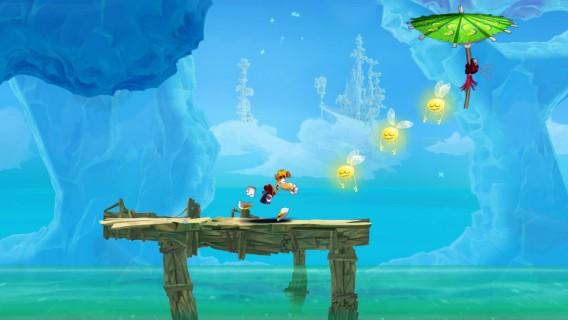 Agarre todos Lums numa das melhores versões 2D do Rayman