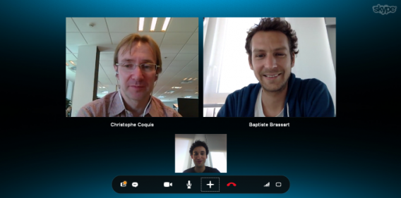 Skype Call in progress
