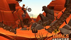 Trials Frontier (iPhone / iPad) : pourquoi les joueurs adorent et les critiques détestent?