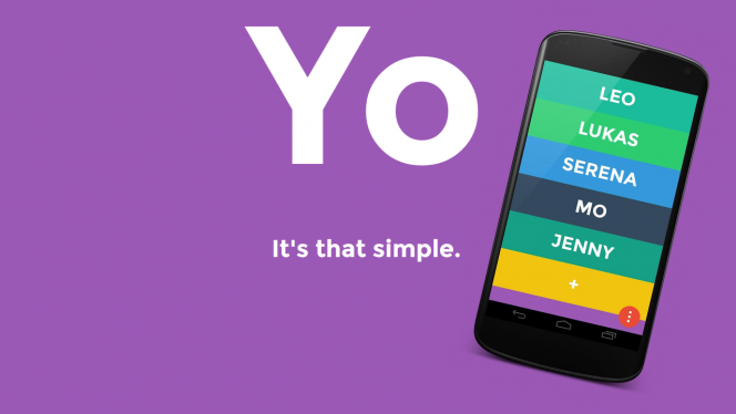 Yo! Voilà 5 façons originales d'utiliser Yo, l'appli qui ne sert à rien!