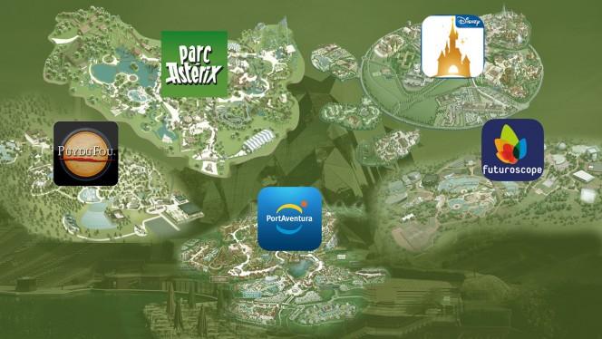 Futuroscope, Disneyland, Parc Astérix...: des applications pour mieux profiter des parcs d'attractions