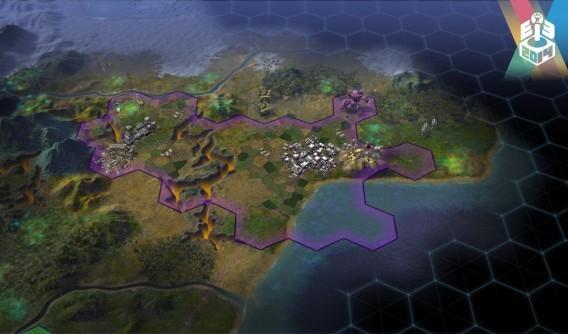 Civilization Beyond Earth, territoires