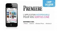 App du jour: le magazine cinéma Première met à jour son application