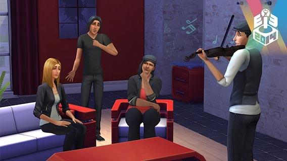 Les Sims interagissent énormément les uns avec les autres