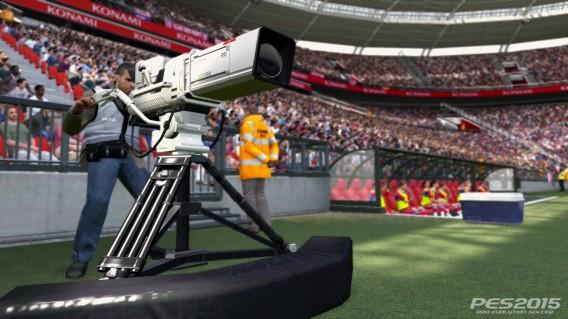 PES 2015 Stadium Camera