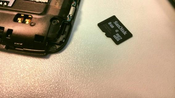 Installer applis sur carte SD