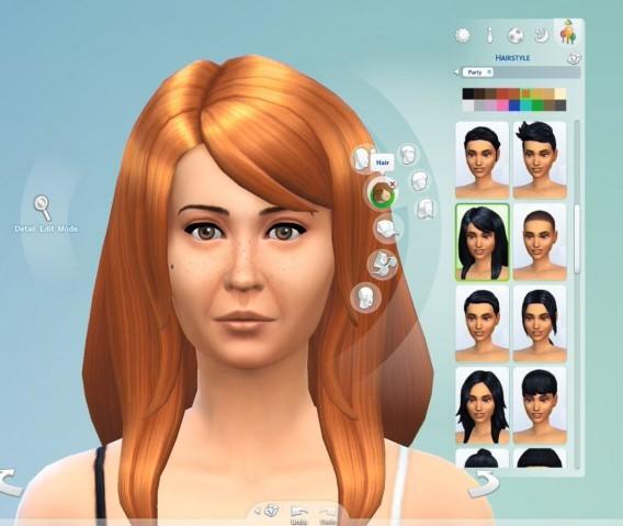Les Sims 4: on a testé la démo Créer un Sim