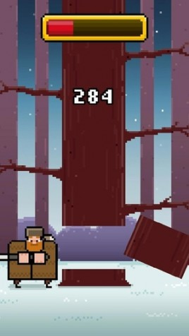 Timberman pour iOS et Android