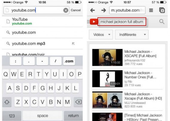YouTube Michael Jackson