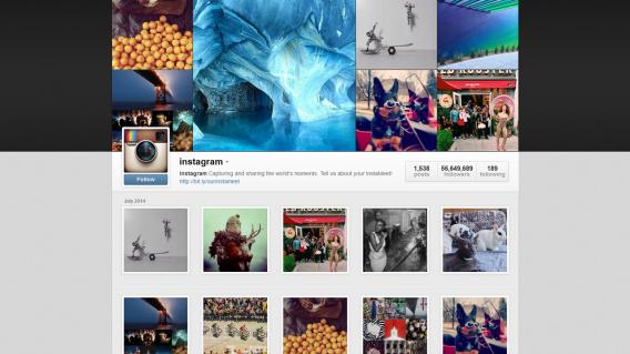 Você não tem direitos autorais sobre as imagens postadas no Instagram