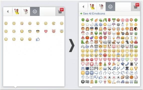 Super Les émoticônes et emoji de Facebook: la liste indispensable DG36