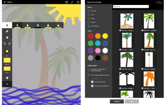 Adobe Ideas screenshots