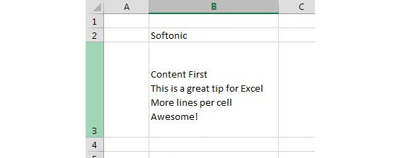 Office Tip How To Type Multiple Lines In An Excel Cell