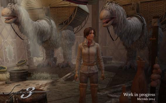 Syberia 3 screenshot 1