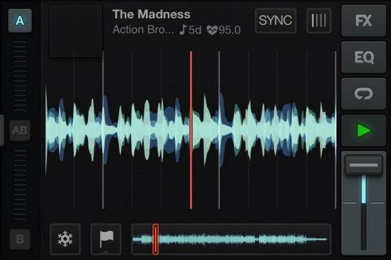 Traktor DJ screenshot