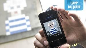 App du  jour : chassez les pixel arts urbains de votre ville avec FlashInvaders