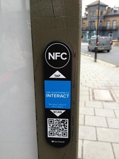 NFC clear channel