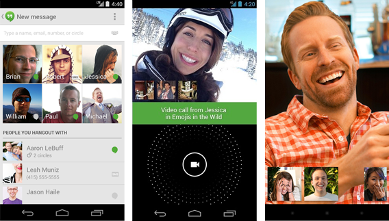 Meilleur application video chat android